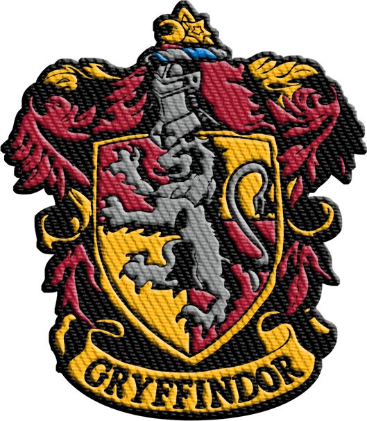 Gryffindor crest png. Harry potter iron on