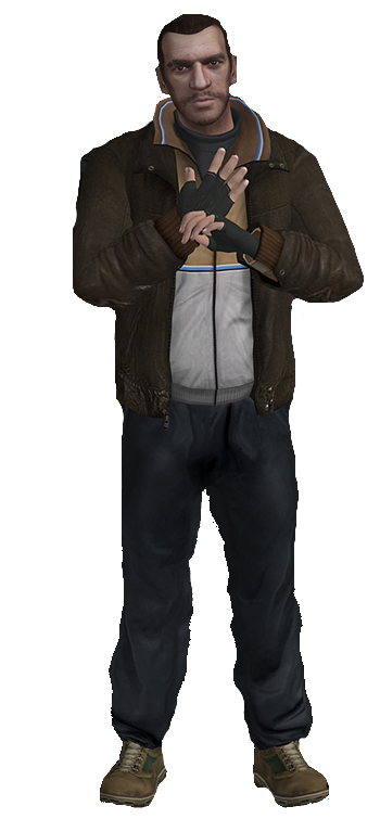 Gta 4 Niko Transparent Png Clipart Free Download Ywd