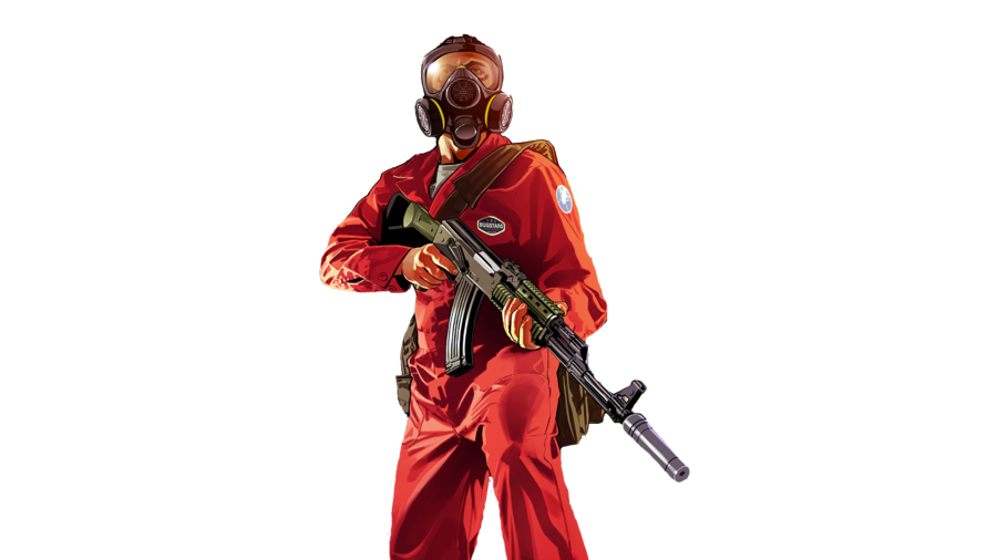 V pest control character. Gta 5 art png graphic library