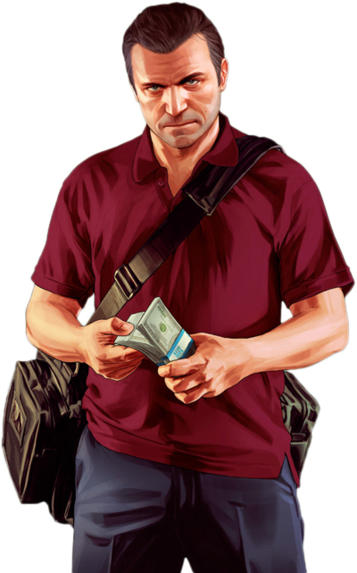 Gta 5 character png. V render michael by