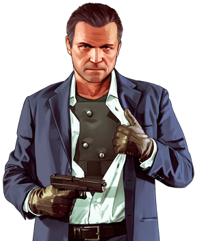 Rockstar north michael. Gta 5 characters png clip freeuse stock