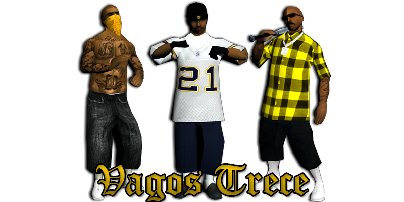 Gta 5 gang png. Vagos trece crews posses