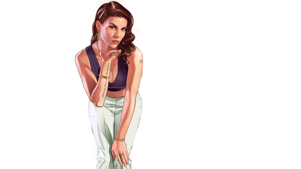Gta 5 girl png. V a picket fence