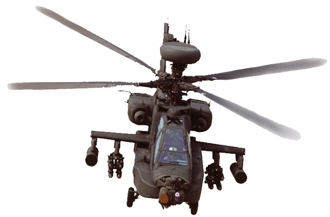 attack helicopter png