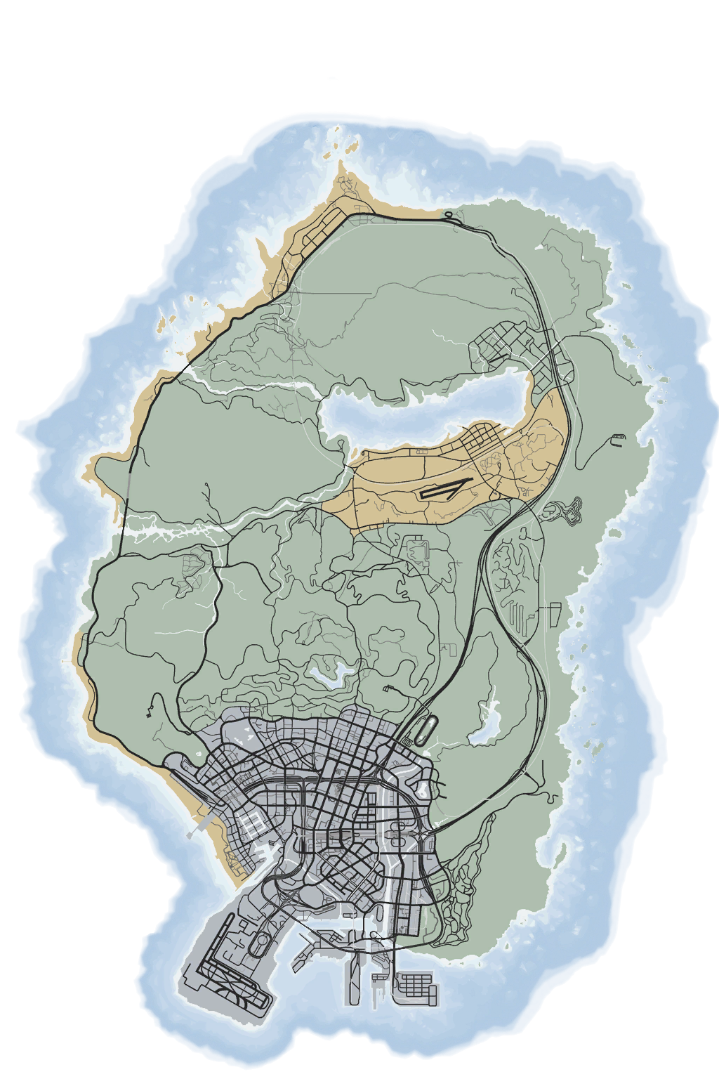 Gta 5 map png. Fiverp v roleplay the
