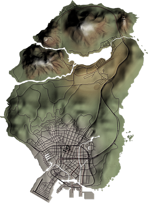 Gta 5 map png. V mapped page pre