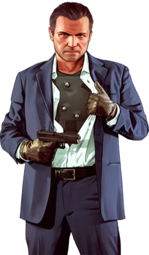 Michael gta 5 png. De santa grand theft