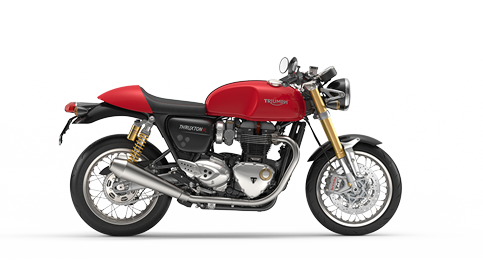 Vector motorcycles cafe racer. Triumph for the ride
