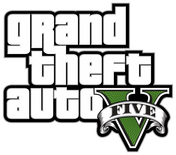 Gta 5 png. Logo aka grand theft