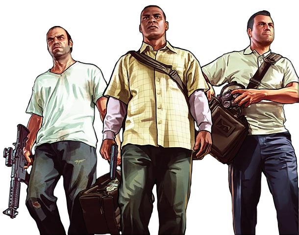 Gta 5 png images. Image michael trevor franklin
