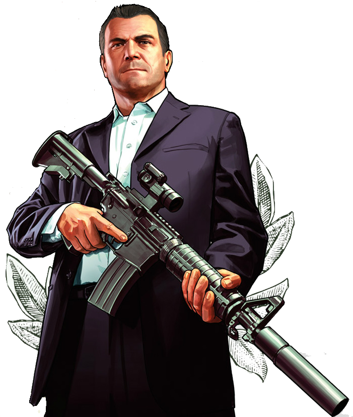 Image michael transparent gtav. Gta 5 characters png clip freeuse stock