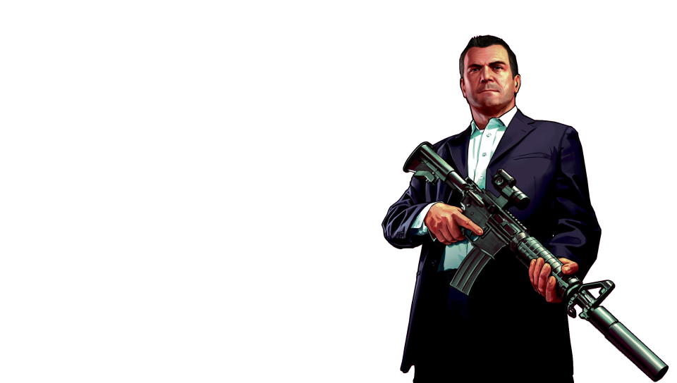 Gta 5 characters png. Michael transparent ps vita