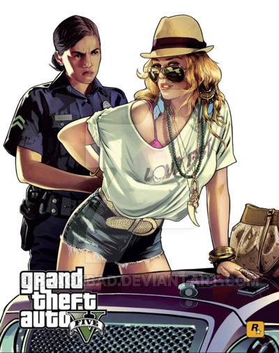 gta 5 girl png