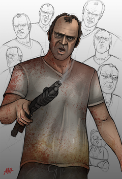 Gta 5 trevor png. Explore on deviantart trevorfox