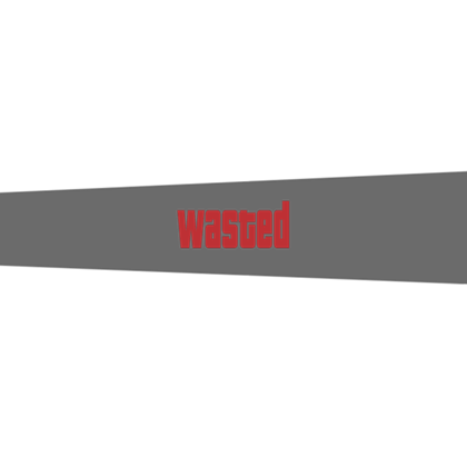 Gta 5 wasted png. Roblox