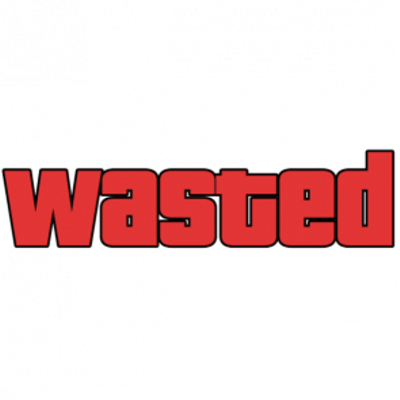 Gta 5 wasted png. Transparent stickpng