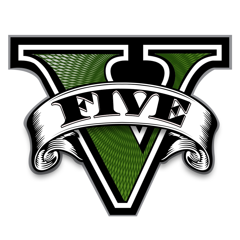 Logos transparent gta 5. V logo on behance