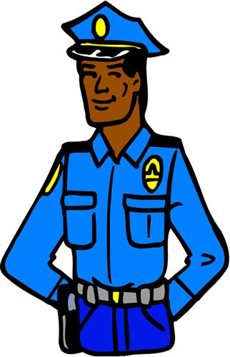 Jail clipart police. Free prison guard cliparts