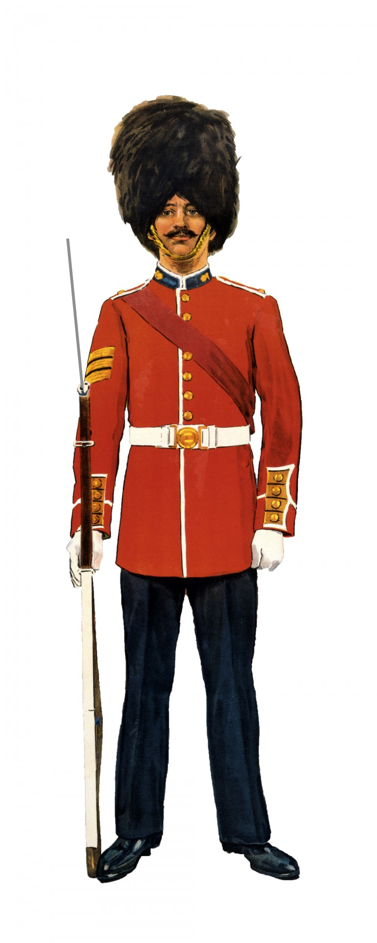 Military clipart public domain. Soldier grenadier guard free