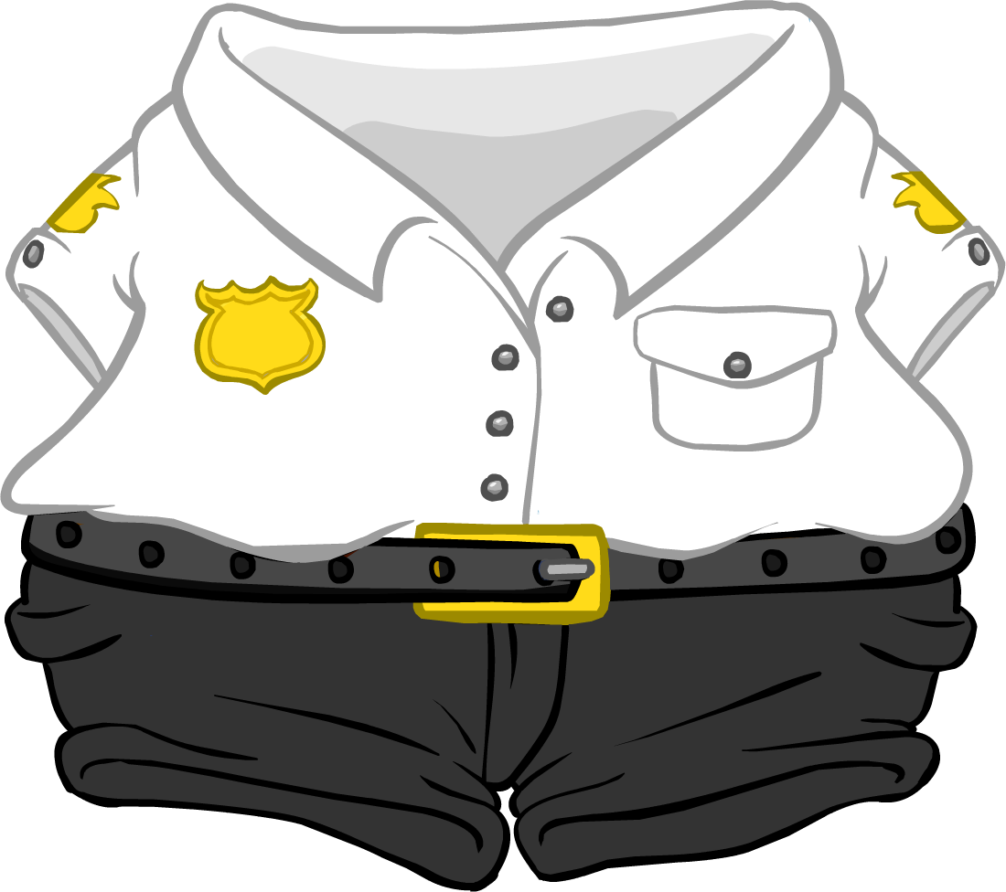 Uniform clipart security guard uniform. Club penguin wiki fandom