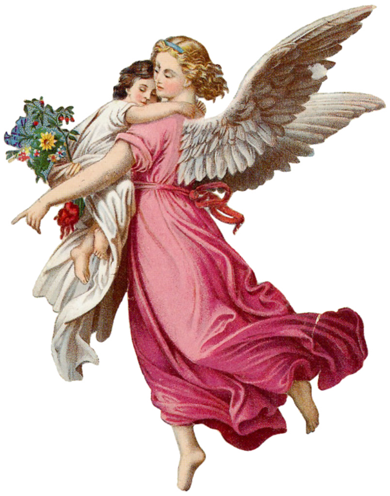 christmas angels png transparent