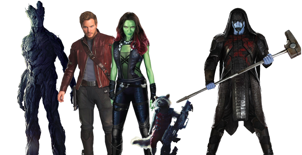 Guardians of the galaxy png