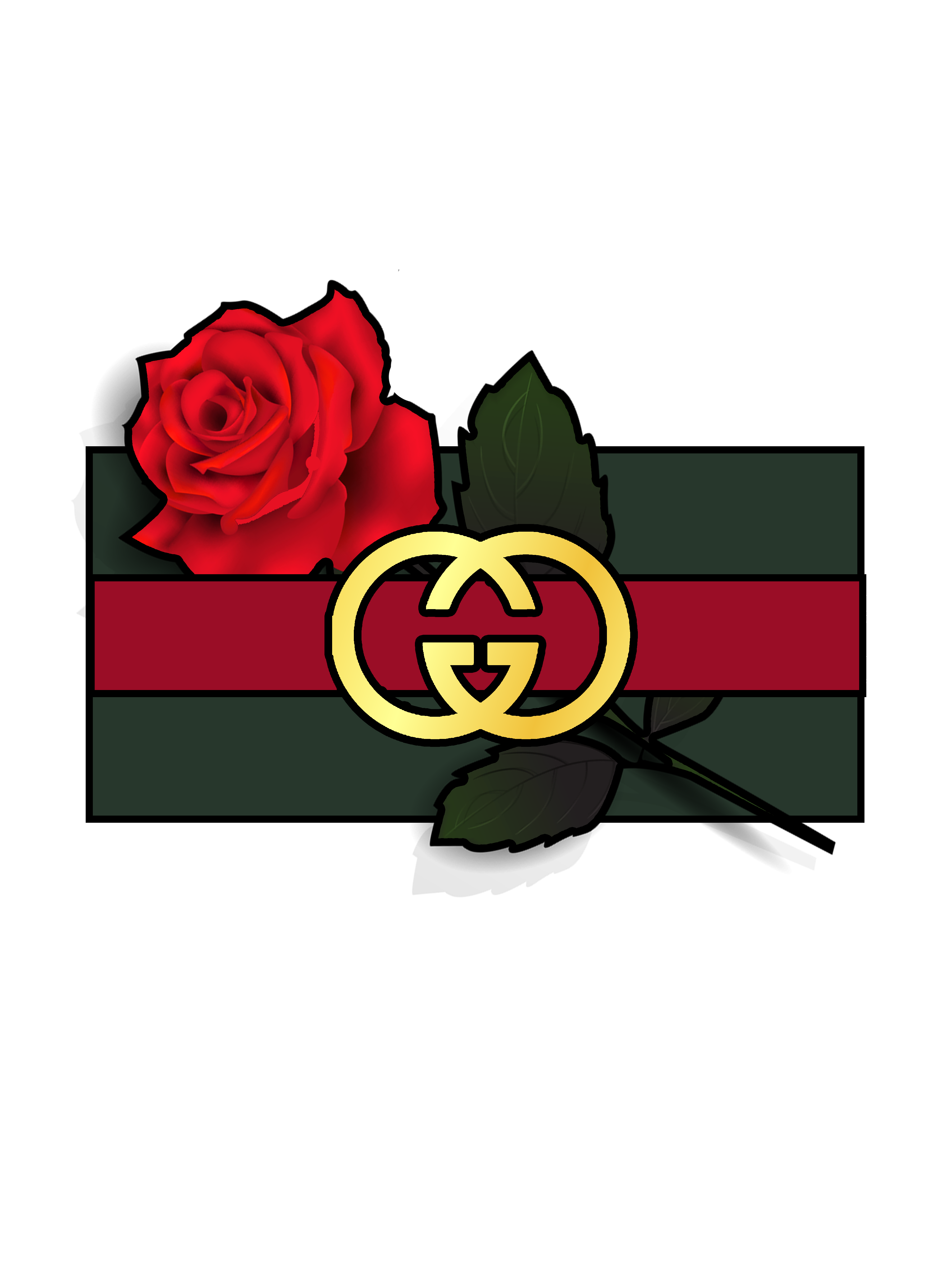 Gucci flower png. Little logo i made