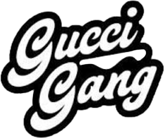 Gucci gang png. Guccigang sticker by infinite