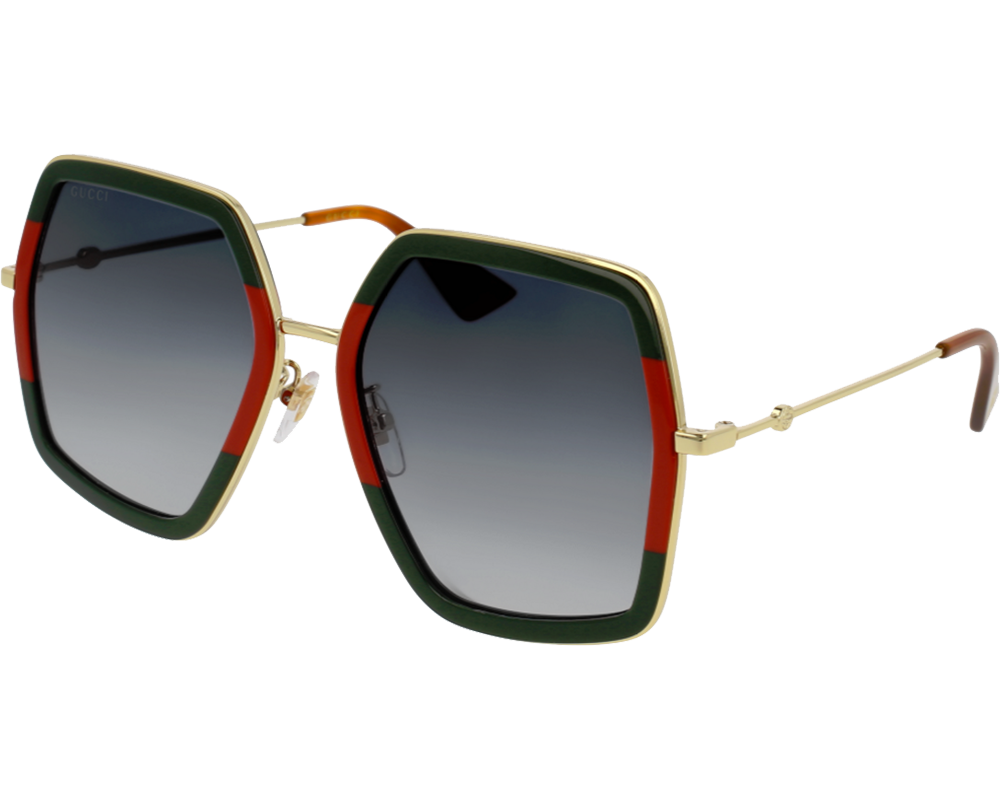 Gucci glasses png. S green red gold