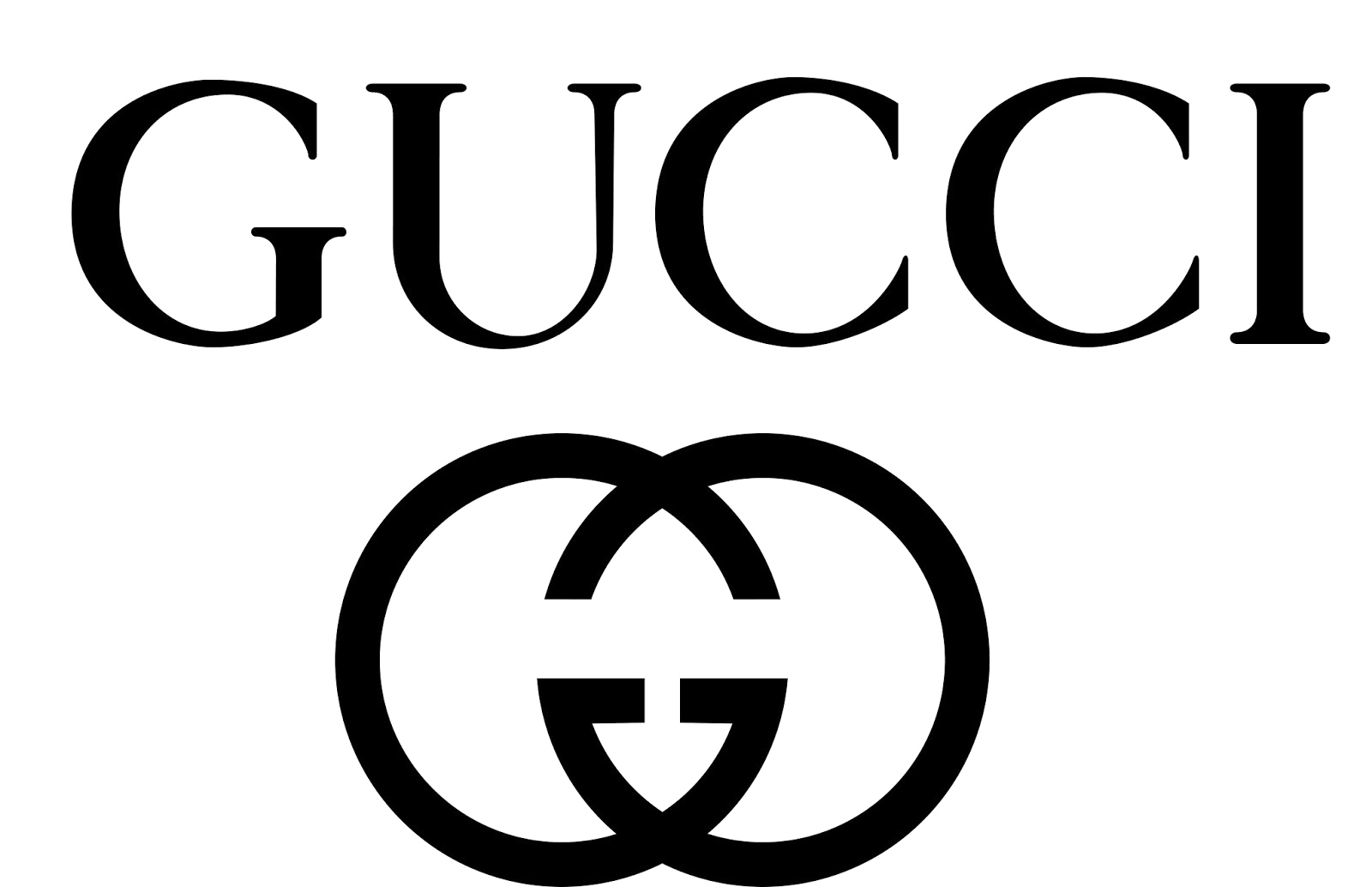 gucci logo transparent png