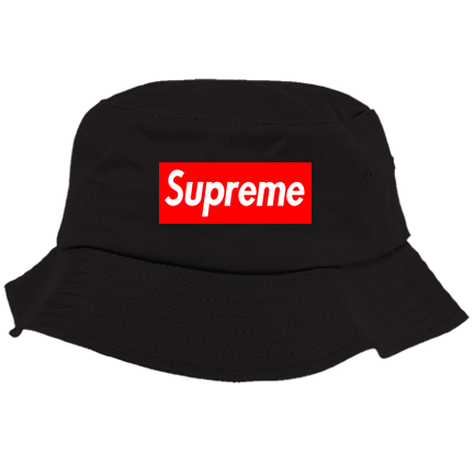 transparent supreme hat