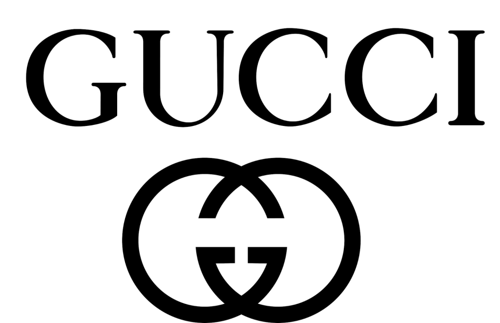 Gucci logo gold png. Real clipart and vector