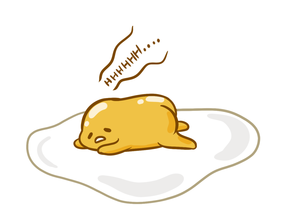 Gudetama png. By puppymintmocha on deviantart