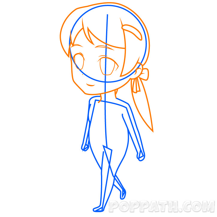 Guidelines drawing chibi. How to draw a
