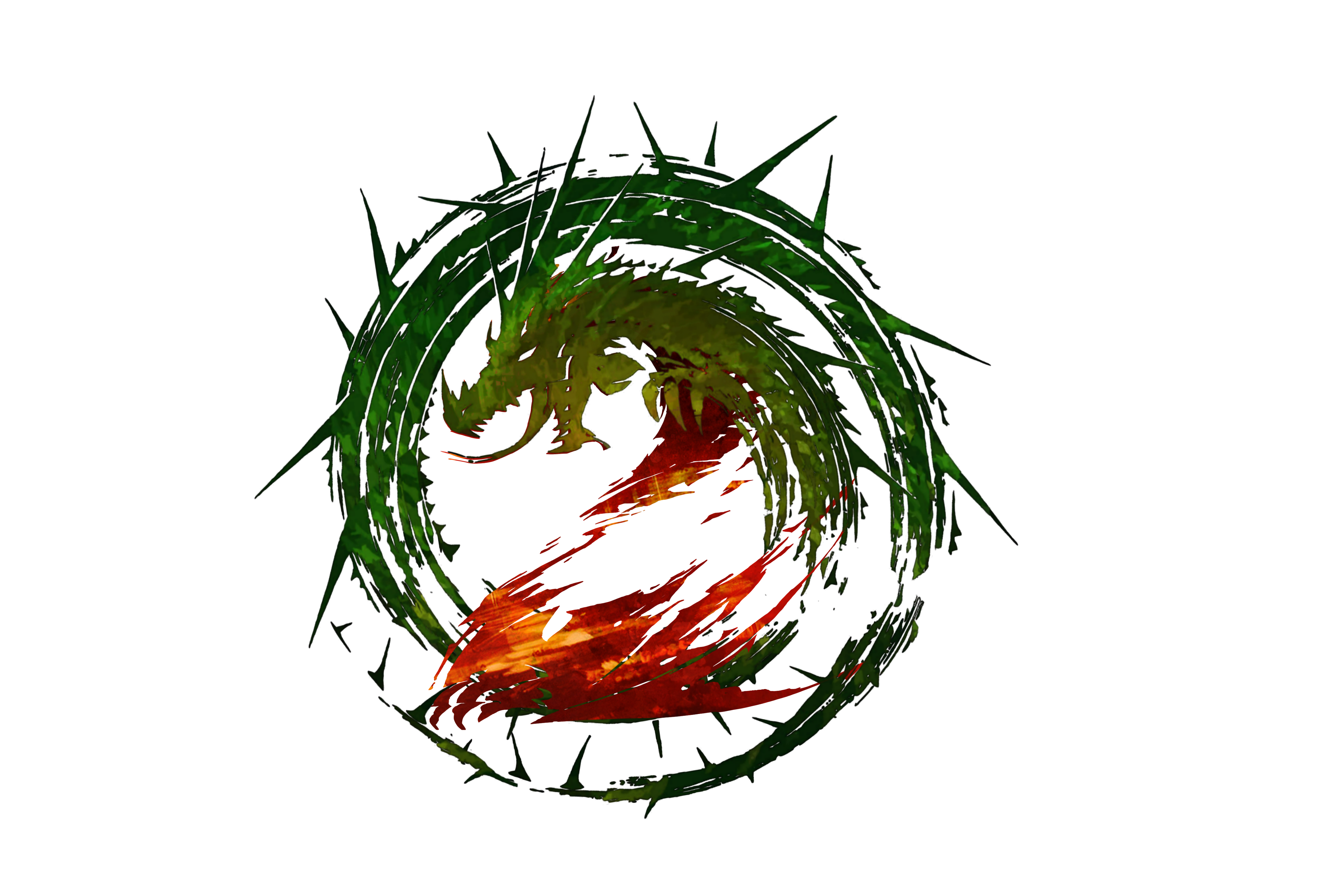 Guild wars 2 png. Heart of thorns logo