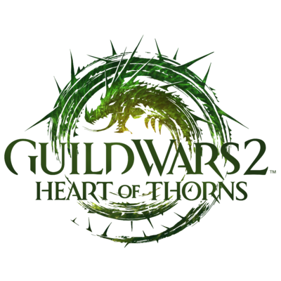 guild wars 2 heart of thorns logo png