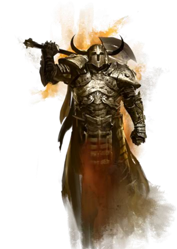 Guild wars 2 png. Warrior wiki gw w
