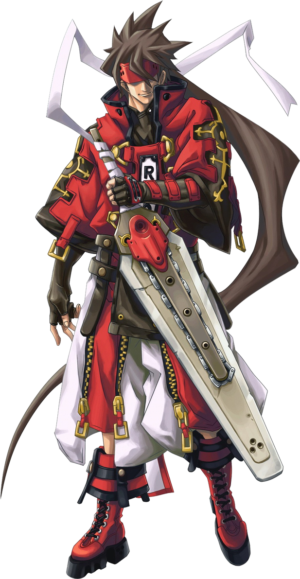 Guilty Gear Xrd Sol Badguy Transparent Png Clipart Free Download