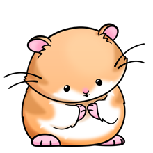 Hamster clipart. Dwarf animals cute kawaii