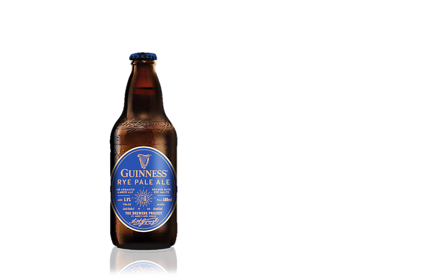 Guinness bottle png. Beer made of more