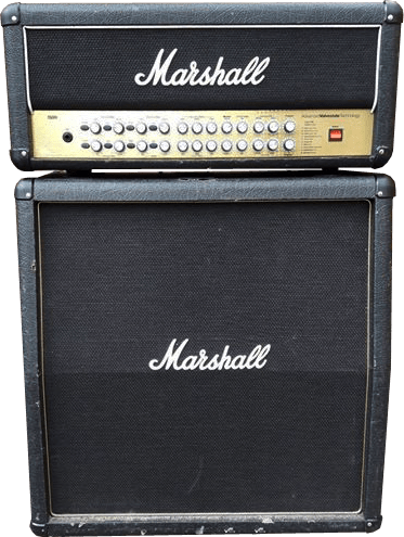 Guitar amp png. Marshall avt amplifier and