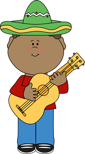 Guitar clipart boy. Cinco de mayo kid