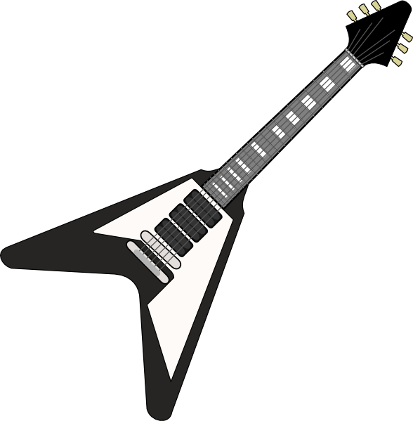 Rockstar clipart bass guitar. Free outline cliparts download