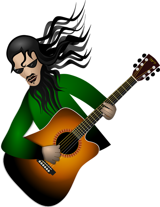 Guitar clipart boy. Animated pictures group with