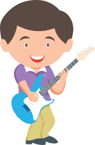 Guitar clipart boy. Search results for electric