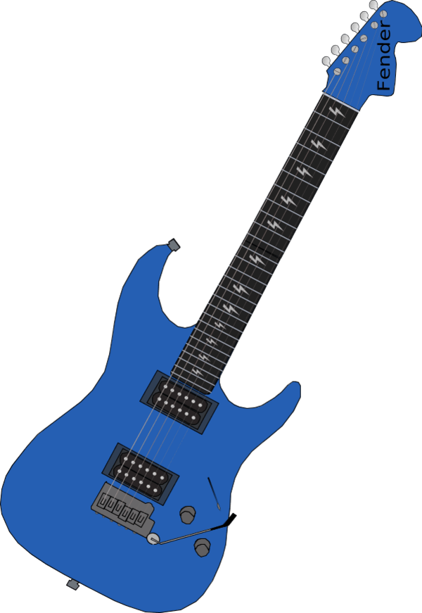 Guitar clipart heart. Free blue cliparts download