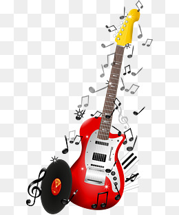 Guitar clipart cool guitar. Elements png vectors psd