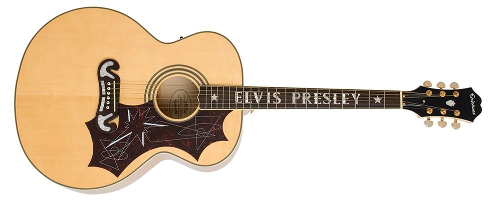 Guitar clipart guitar elvis. Gibson com all presley