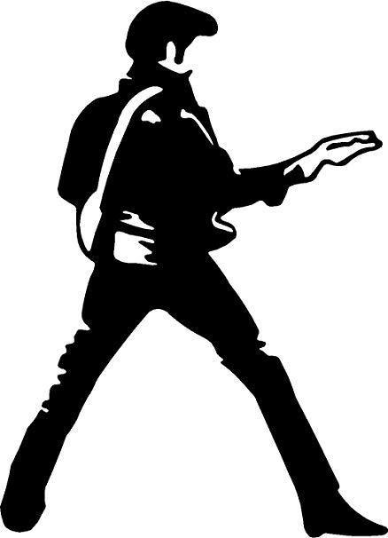 Guitar clipart guitar elvis. Amazon com presley dance