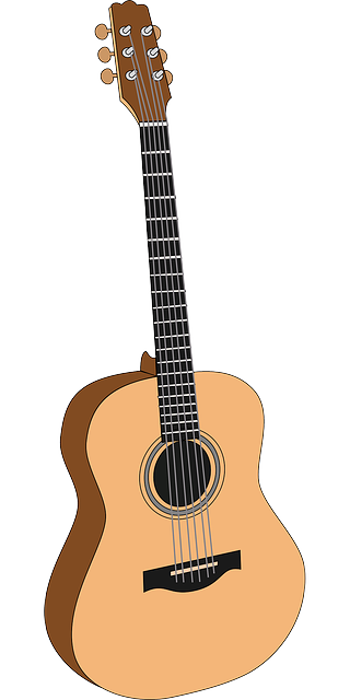 Guitar clipart guiter. Free image on pixabay
